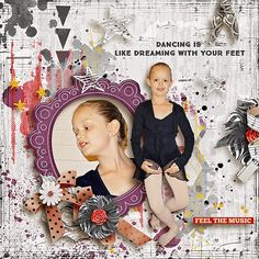 ***NEW*** Move your feet by WendyP Designs http://www.digitalscrapbookingstudio.com/collections/m/move-your-feet-by-wendyp-designs/