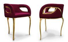 Covet House encontró un diseño moderno y audaz de sillas para darle ideas si está tratando de decorar su hogar. Vea más diseño de sillas aquí www.covethouse.eu