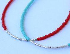 Pulsera perlas oro pulsera gris y oro otoño por lizaslittlethings