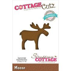 CottageCutz Petites Die - Moose
