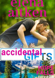 """""""Accidental Gifts"""" (Hope Falls Kindle World novella) (Castle Mountain book 8)  by Elena Aitken  """"Accidental Gifts"""" was written as part of the Hope Falls Kindle World Series. It was an enjoyable read. Fun and flirty.   The characters were interesting as was the plot line. While it was engaging at times, other times it seemed the novel lacked substance and depth.    While the main characters really carry the novella to the end, and make the novella good, there is a bit of repetition in the…"""