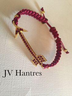 FSU Fear the Spear Game Day Bracelet by JVHANTRES on Etsy