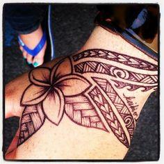 Bring me back a Frangipani tattoo - http://99tattoodesigns.com/bring-back-frangipani-tattoo/