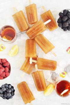 DIY Sweet Tea Popsicles - Perfect Summer Treat