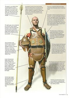 Archaic age armour from Dimitrios Katzikis at hellenicarmors.gr