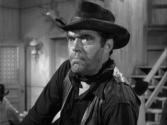 """William Scott """"Jack"""" Elam, was an American film and television actor best known for his numerous roles as villains in Western films and, later in his career,. Old Western Actors, Western Film, Jack Elam, Tv Westerns, Cowboy And Cowgirl, Golden Age Of Hollywood, Troops, Famous People, Movie Tv"""