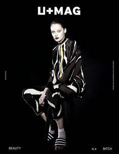 Über Fashion Marketing: Marcelia Freesz e Thairine Garcia na capa da U+MAG N° 104