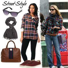 Ekose trendini sokak stilinize taşıyarak Bar Rafaeli gibi cool görünmeye ne dersiniz? #love #fashion #style #limoncompany