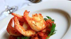 Autumn Elegance by Pierre Wong Seared prawns / cauliflower cream / roasted cauliflower / raisins / curry leaves  #healthylunchideas #prawns #prawnrecipes #lunchrecipes #privatechef #yummyfoodideas