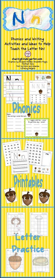 Sharing Kindergarten: Letter Nn