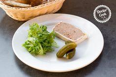 Paté z vepřových jater — Doctor Cook Charcuterie, Marsala, Bread, Baking, Recipes, Wood, Pork, Brot, Bakken