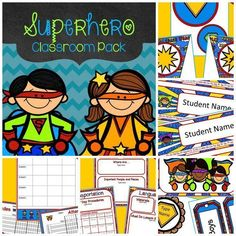 I love this editable classroom theme pack! $