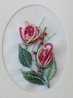 Brazilian embroidery sample.