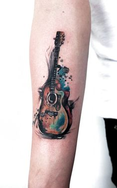 This excellent music tattoo most certainly is an inspiring a Sweet Tattoos, Baby Tattoos, Unique Tattoos, Beautiful Tattoos, Small Tattoos, Tattoos For Guys, Faith Tattoos, Quote Tattoos, Word Tattoos