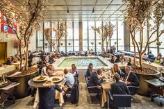 The Four Seasons Space Gets a New, Younger Face - The New York Times