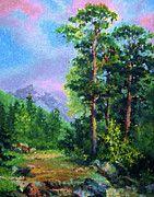 Nature Art Landscape by Edna Wallen