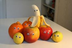Googly eye food fun!   this image is an quirky food image, it is similar to something i want to achieve in the photos.