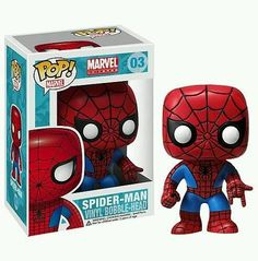Spider-Man Marvel Pop! Vinyl Bobble Head in Collectibles, Pinbacks, Bobbles, Lunchboxes, Bobbleheads, Nodders | eBay