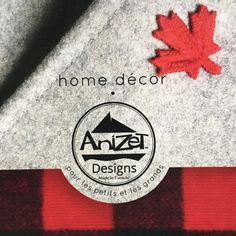 AnizetDesigns made with love in Canada 🇨🇦 Natural Materials, Fabric Design, Home Accessories, Eco Friendly, Canada, Logos, How To Make, Fun, Handmade