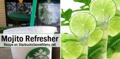 Mojito Refresher | Starbucks Secret Menu