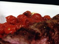 Ina Garten's - Roasted Cherry Tomatoes from FoodNetwork.com