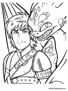 how to train your dragon realistic coloring in