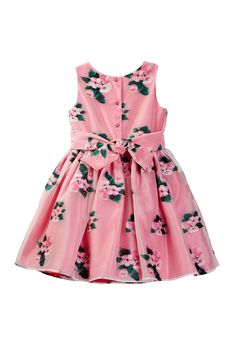 Pippa & Julie - Floral Dress (Toddler & Little Girls) is now 55% off. Free Shipping on orders over $100.