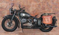 1941 Indian Military Model 841 The Wigwam's desert warfare bike