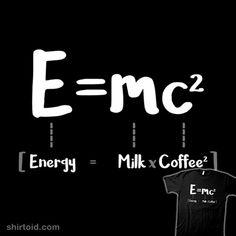 Milk x Coffee | Shirtoid #coffee #energy #licunatt #milk