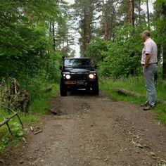 Off road course Defender