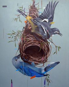 Художник Frank Gonzales рисует рай на земле. Картины