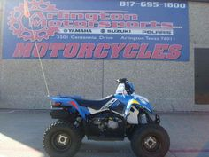 New 2016 Polaris Outlaw 110 EFI Voodoo Blue ATVs For Sale in Texas. 2016 Polaris Outlaw 110 EFI Voodoo Blue, ALL NEW!! Fuel Injected Outlaw 110! The Voodoo Blue looks GREAT!!! LOW Maintenance and Priced Right!! - For riders 10 years old and older with adult supervision Electronic Fuel Injected (EFI) 112 cc engine Parent-adjustable speed limiter Arlington Motorsports is a located on major freeway HWY 360 between Dallas and Fort Worth Texas in the middle of the Metroplex. 1 mile from Six…