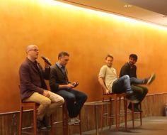 PETER PAIGE, SCOTT LOWELL, RANDY HARRISON AND GALE HAROLD, BILBAO 2014