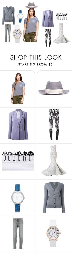 """fashion collection"" by emmamegan-5678 ❤ liked on Polyvore featuring Brooks Brothers, Maison Michel, Versace, NIKE, Peace Love World, Mikael D, Michael Kors, Burberry, dVb Victoria Beckham and Marc Jacobs"