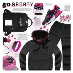 """""""Go Sporty"""" by katjuncica ❤ liked on Polyvore featuring Monster"""
