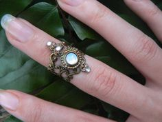 knuckle ring armor ring midi ring nail ring claw by gildedingypsy, $14.50