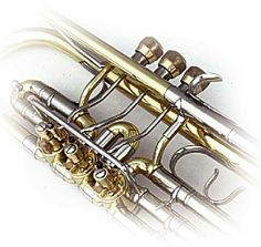 rotor trumpet with piston feature