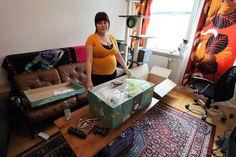 Alle zwangere Finse vrouwen krijgen een doos met een mooie baby-uitzet, waardoor alle baby's eenzelfde goede start krijgen. En de doos is gelijk ook de wieg!
