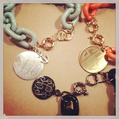 Layer on the Charm with Libby Link Personalized and Monogrammed  Bracelet Charms!  SwellCaroline.com