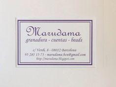 Marudama - boles i fils, gracia. Http:/Marudama.blogspot.com
