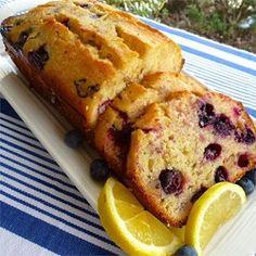 Lemon Blueberry Bread - Allrecipes.com