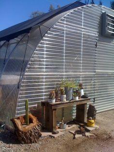 29Palms Inn, greenhouse