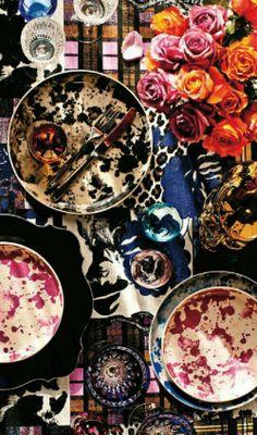Watercolour Ceramics - Bonnie and Neil