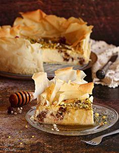 Baklava Cheesecake   kitchenMaestro