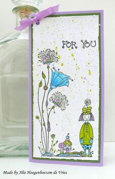 Alie Hoogenboezem-de Vries: Two happy cards....