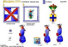 BLENHEIM 1704 BAVARIA:IR MERCY REGIMENT OF FOOT    http://onmilitarymatters.com/images/RHBY07.jpg