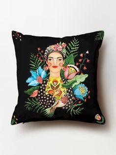 ",,FRIDA""  #frida #home #pillow #deco #cushion #cotton #HomeCreators #CristinaCaramida  https://www.homecreators.ro"