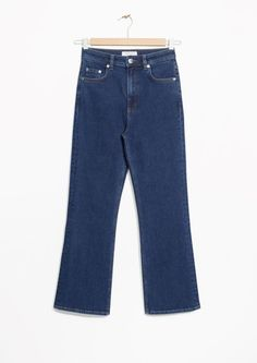 & Other Stories image 2 of Flare Denim Jeans in Blue