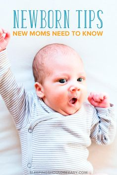 Realistic tips and tricks for new moms! The baby stage is one of the most exhausting periods of a parent's life. Learn how to get through these challenging months, from breastfeeding to sleep deprivation to how to care for a fussy baby. Newborn Baby Tips, Newborn Care, Caring For A Newborn, Newborn Outfits, New Parents, New Moms, Baby Care Tips, After Baby, Sleep Deprivation