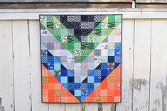 Ed Emberley Chevron Quilt - photo only